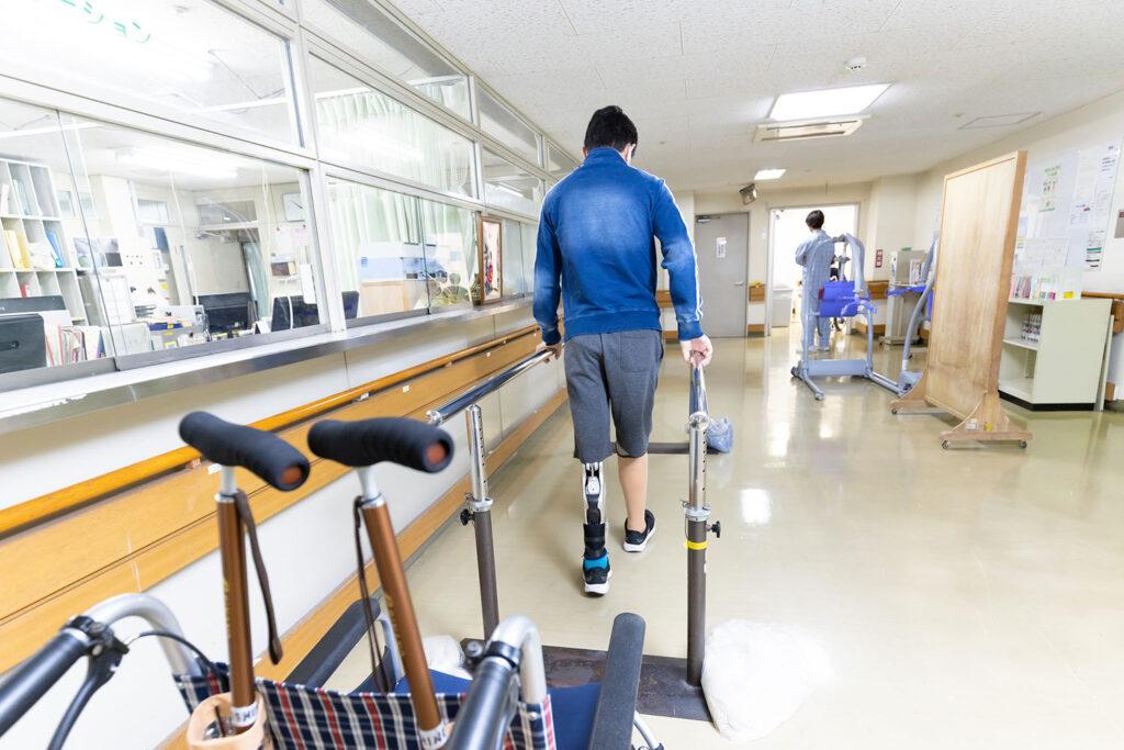 県リハのような専門的な病院での入院生活