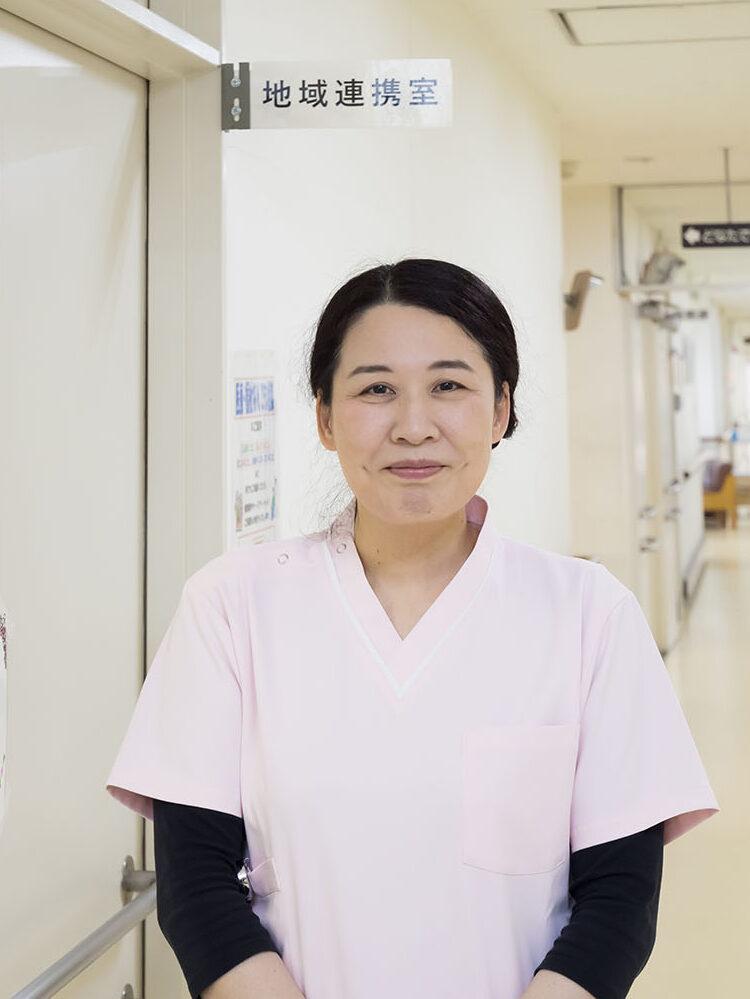 皮膚・排泄ケア認定看護師 植木敬子