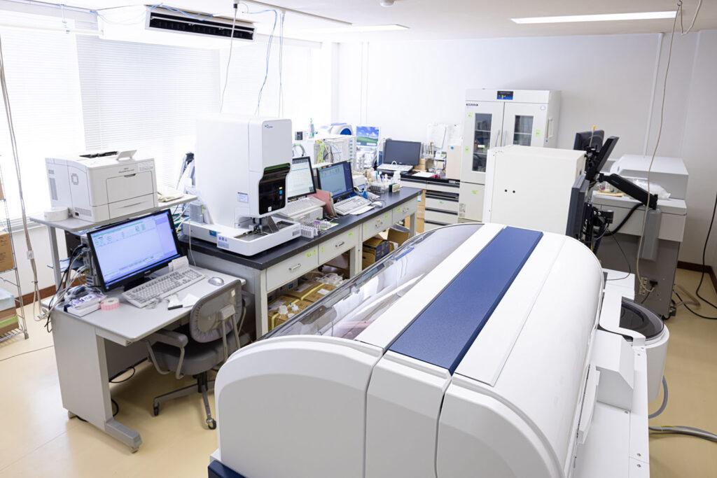検体検査室