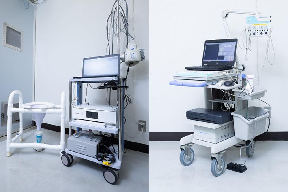 筋電計 と 排尿機能測定装置