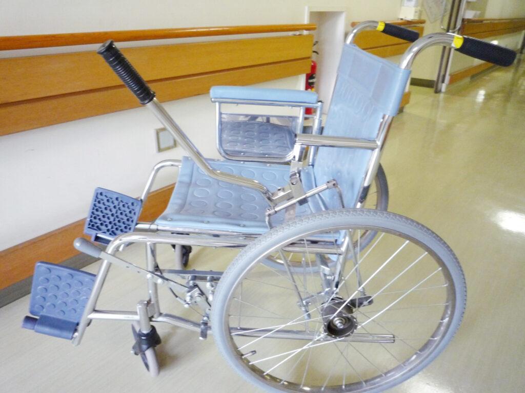 レバー駆動型車椅子