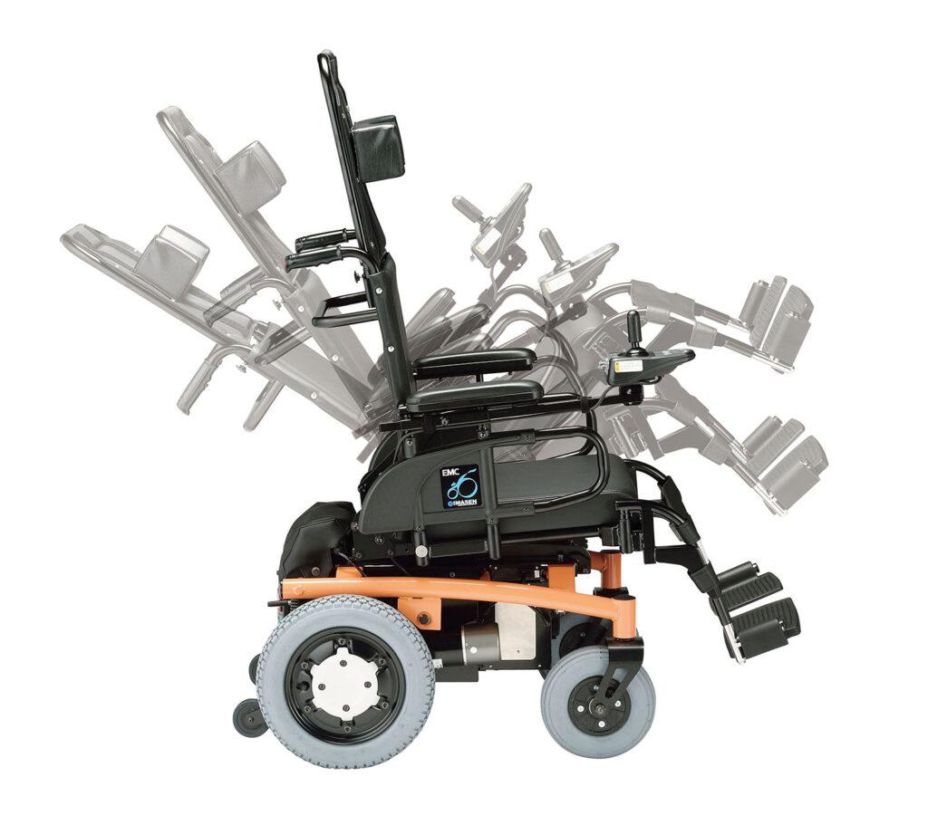 電動車椅子電動ティルト式